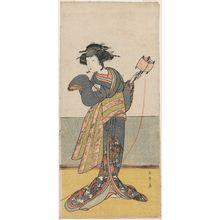 Katsukawa Shunsho: Actor Onoe Tamizô - Museum of Fine Arts