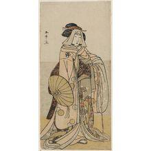 Katsukawa Shunsho: Actor Bandô Matsugorô I - Museum of Fine Arts