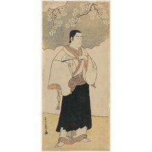 Katsukawa Shunsho: Actor Ichikawa Monnosuke II as a Monk - Museum of Fine Arts