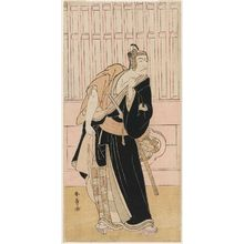 Katsukawa Shunsho: Actor Ichikawa Danjûrô V as Sukeroku - Museum of Fine Arts