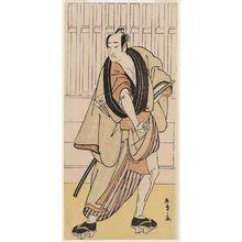 Katsukawa Shunsho: Actor Onoe Matsusuke I as Monbei - Museum of Fine Arts