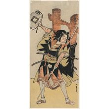 Katsukawa Shunsho: Actor Ichikawa Danjûrô V as Yuranosuke the loyal rônin - Museum of Fine Arts