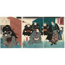 Utagawa Kuniyoshi: Act X of Chûshingura - Museum of Fine Arts