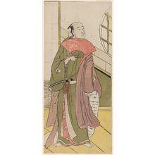 Katsukawa Shunko: Actor Onoe Matsusuke - Museum of Fine Arts