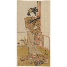 勝川春好: Actor Onoe Matsusuke - ボストン美術館