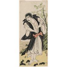 Katsukawa Shunko: Actor Morita Kan'ya as Seigen of Kiyomizudera - Museum of Fine Arts