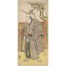 Katsukawa Shunko: Actor Arashi Tojurô ? - Museum of Fine Arts