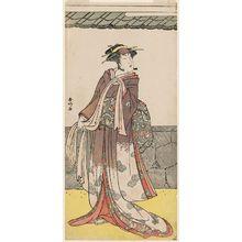 Katsukawa Shunko: Actor Osagawa Tsuneyo II - Museum of Fine Arts