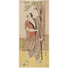 Katsukawa Shunko: Actor Ichikawa Monnosuke - Museum of Fine Arts