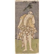 Katsukawa Shun'ei: Actor Ichikawa Danjûrô V - Museum of Fine Arts