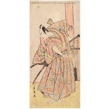 Katsukawa Shun'ei: Actor Ichikawa Yaozô - Museum of Fine Arts
