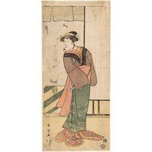 勝川春英: Actor Segawa Kikunojô III - ボストン美術館