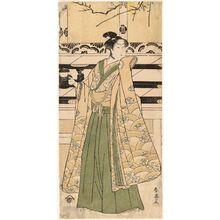 Katsukawa Shun'ei: Actor Iwai Hanshirô - Museum of Fine Arts