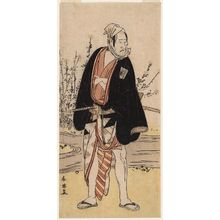 Katsukawa Shun'ei: Actor Ichikawa Yaozô II - Museum of Fine Arts
