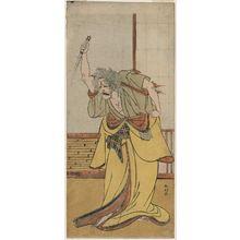 勝川春好: Actor Ichikawa Danjûrô V as Adachi ga Hara - ボストン美術館