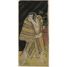 Katsukawa Shunko: Actor Sakata Hangorô II as the sumo wrestler Kujaku Saburô Narihira (?) - Museum of Fine Arts