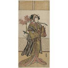 Katsukawa Shunko: Actor Iwai Hanshirô - Museum of Fine Arts