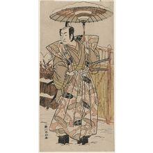 勝川春好: Actor Ichikawa Monnosuke II - ボストン美術館