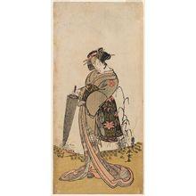 勝川春童: Actor Segawa Kikunojô III - ボストン美術館