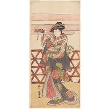 Katsukawa Shunjô: Actor Yamashita Kinsaku II - ボストン美術館