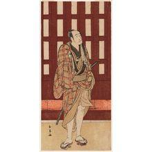 Katsukawa Shunjô: Actor Onoe Matsusuke - ボストン美術館