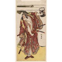 Katsukawa Shunjô: Actor Ichikawa Monnosuke II as Monzai - ボストン美術館