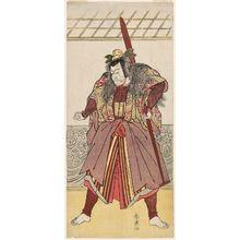 勝川春扇: Actor Ichikawa Danjûrô V - ボストン美術館