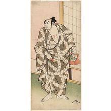 Ryûkôsai Jokei: Actor Arashi Hinasuke I as the Wrestler Tatsugadake - Museum of Fine Arts