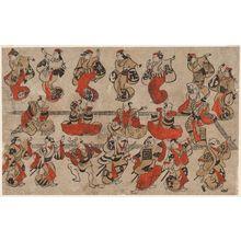 鳥居清信: A So-Dori Performance - ボストン美術館
