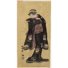 Toshusai Sharaku: Actor Iwai Hanshirô in a Female Role - Museum of Fine Arts