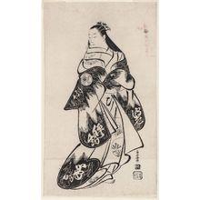 Torii Kiyomasu I: Actor Matsumoto Jûkan - Museum of Fine Arts