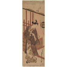 奥村政信: Actor Sanogawa Ichimatsu - ボストン美術館