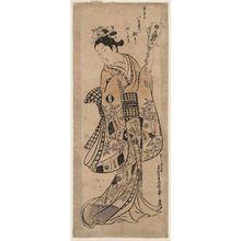 奥村政信: Yaoya Oshichi - ボストン美術館