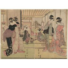 Utagawa Toyokuni I: After the Wedding - Museum of Fine Arts
