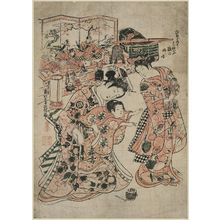 Okumura Masanobu: The Doll Festival - Museum of Fine Arts