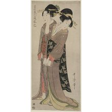 Kitagawa Utamaro: The Southeast (Tatsumi), from the series Three Amusements of Modern Beauties (Tôsei bijin sanyû) - Museum of Fine Arts
