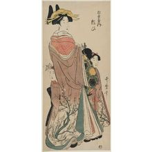 Kitagawa Utamaro: Yosooi of the Matsubaya - Museum of Fine Arts