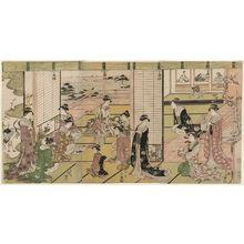 Hosoda Eishi: Honoring the Three Gods of Poetry - Museum of Fine Arts
