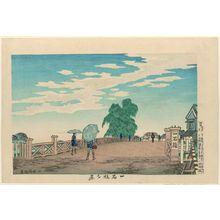小林清親: Evening View of Ikkoku Bridge (Ikkoku-bashi yûkei) - ボストン美術館