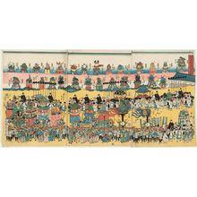 Utagawa Yoshikazu: The Kanda Festival Parade (Kanda matsuri dashizukushi) - Museum of Fine Arts