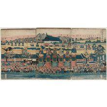 Utagawa Kuniteru: The Sannô Festival (Sannô gosairei zu) - Museum of Fine Arts