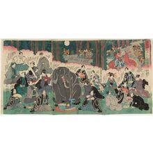 歌川芳艶: Shôbutsu nisemono tengu no kie - ボストン美術館