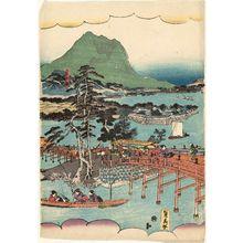 Utagawa Sadahide: Landscape - Museum of Fine Arts