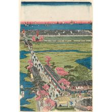 Utagawa Sadahide: View of the Pleasure Quarter in Yokohama, Kanagawa (Kanagawa Yokohama kakaku no kôkei) - Museum of Fine Arts