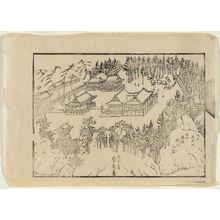 Utagawa Sadahide: (Edo meisho no uchi Ôji gongen keidai no zu) - Museum of Fine Arts