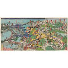 月岡芳年: The Kisokaidô Road - ボストン美術館