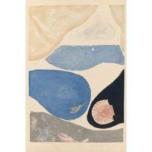 Onchi Koshiro: Poem No. 6: Image de la Mer - Museum of Fine Arts
