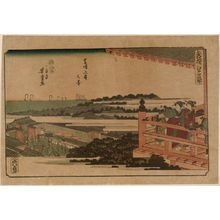 Utagawa Yoshitora: View of Zôjô-ji Temple in Shiba (Shiba Zôjô-ji no kei), from the series newly Selected Famous Places in Edo (Shinsen Edo meisho) - Museum of Fine Arts
