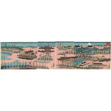 Utagawa Yoshitora: Kodomo asobi haru no... - Museum of Fine Arts