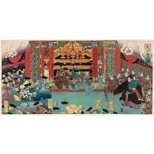 Utagawa Yoshitora: The Great Ceremony (Dai hôe no zu) - Museum of Fine Arts